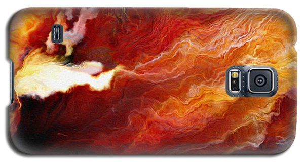Passion - Abstract Art - Triptych 3 Of 3 Galaxy S5 Case