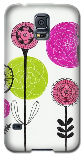 Passion Flowers Galaxy S5 Case