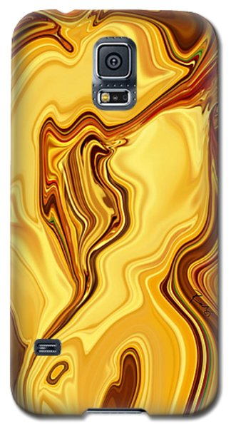 Galaxy S5 Case featuring the digital art Passion by Rabi Khan