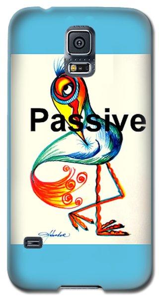 Passive Taino Bird Galaxy S5 Case