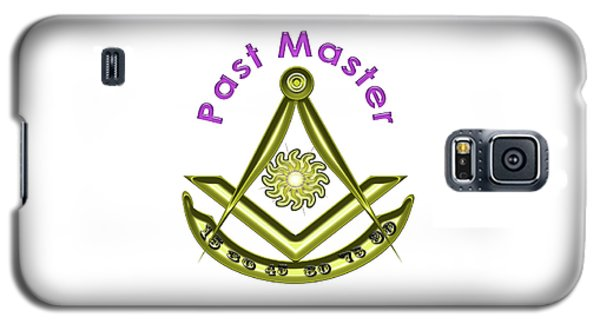Past Master In White Galaxy S5 Case
