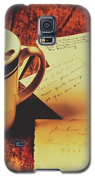 Past Postcard Preoccupations  Galaxy S5 Case