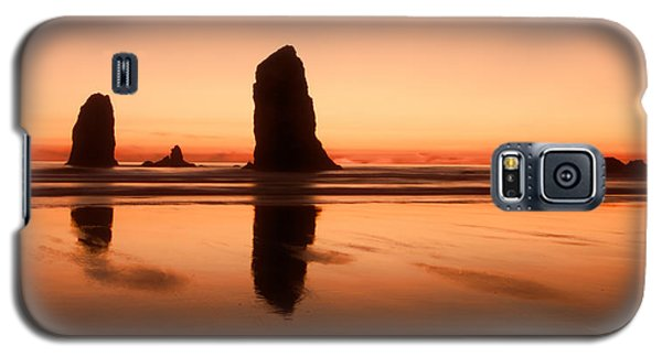Pastel Evening On The Oregon Coast Galaxy S5 Case by Don Schwartz
