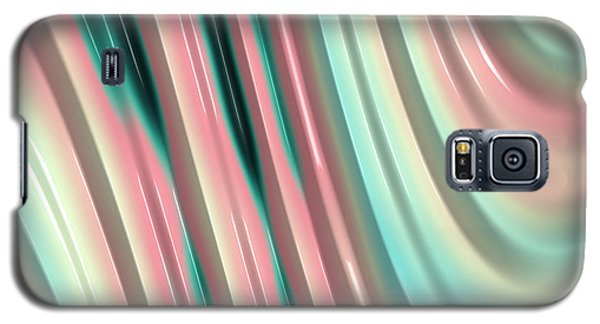 Galaxy S5 Case featuring the photograph Pastel Fractal 2 by Bonnie Bruno