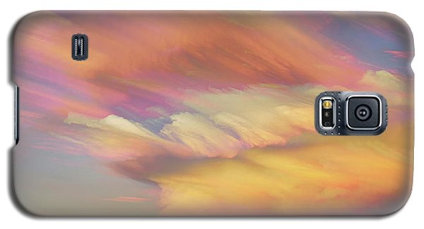 Galaxy S5 Case featuring the photograph Pastel Painted Big Country Sky by James BO Insogna