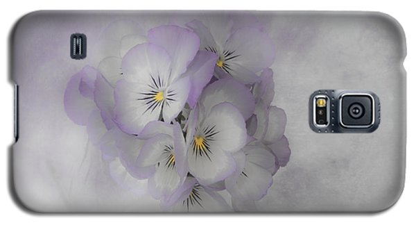 Pastel Pansies Still Life Galaxy S5 Case