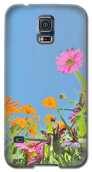 Pastel Poppies Galaxy S5 Case