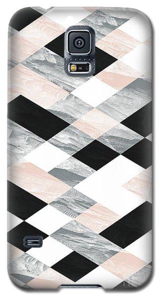 Pastel Scheme Geometry Galaxy S5 Case