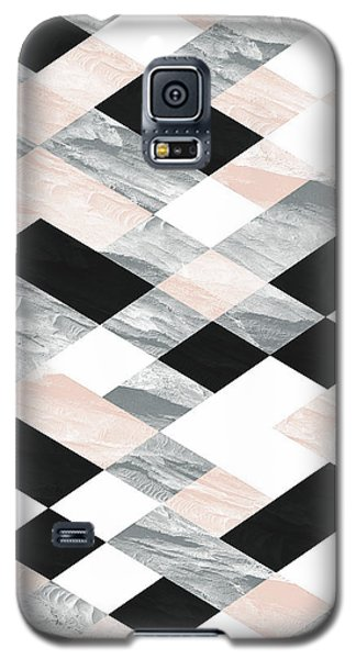 Pastel Scheme Geometry Galaxy S5 Case