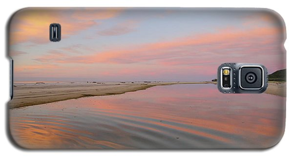Pastel Skies And Beach Lagoon Reflections Galaxy S5 Case