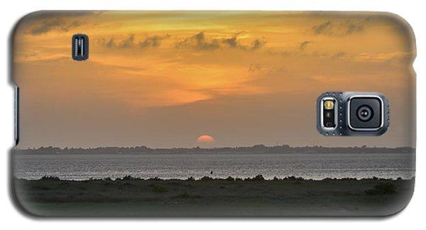 Galaxy S5 Case featuring the photograph Pastel Sky by Debra Martz