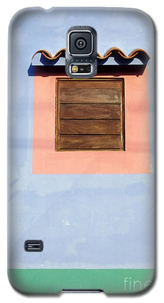 Galaxy S5 Case featuring the photograph Pastel Wall Gran Roque Venezuela by John  Mitchell