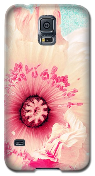 Pastell Poppy Galaxy S5 Case
