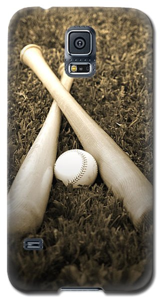 Softball Galaxy S5 Case - Pastime by Shawn Wood