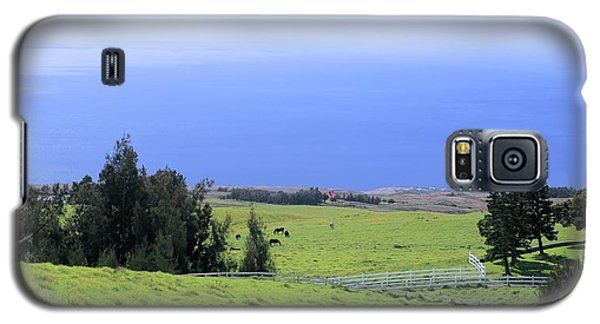 Pasture By The Ocean Galaxy S5 Case