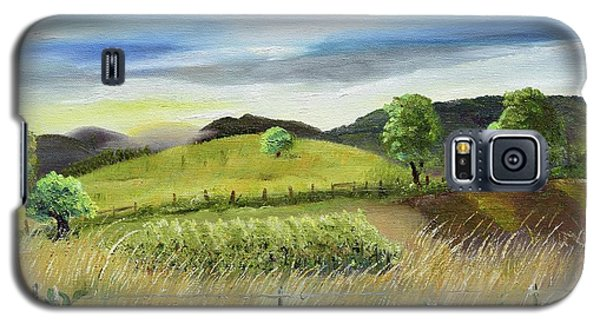 Pasture Love At Chateau Meichtry - Ellijay Ga Galaxy S5 Case