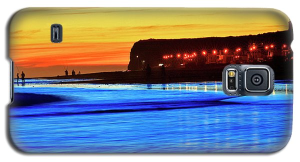 Galaxy S5 Case featuring the photograph Patagonia Beach. by Bernardo Galmarini