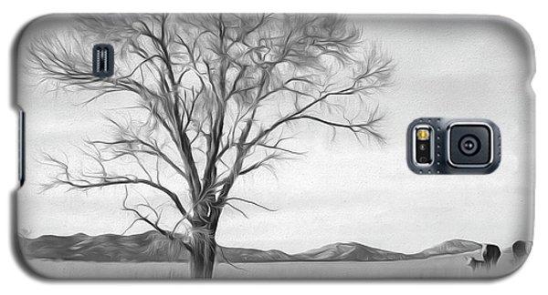 Patagonia Pasture Bw Galaxy S5 Case