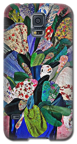 Patchwork Bouquet Galaxy S5 Case by Sarah Loft
