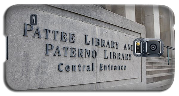 Paterno Library At Penn State  Galaxy S5 Case by John McGraw