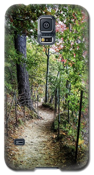 Path Along The Pond Galaxy S5 Case