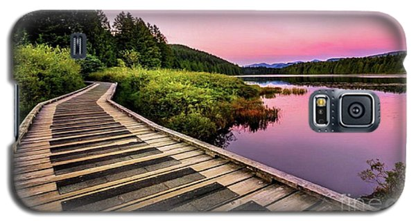 Path By The Lake Galaxy S5 Case