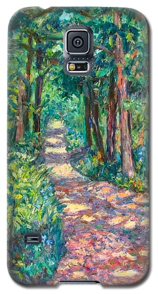 Path On Sharp Top Galaxy S5 Case