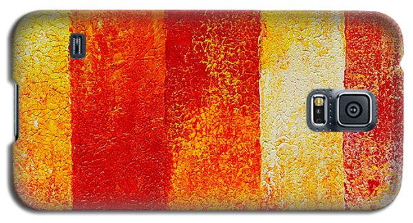 Galaxy S5 Case featuring the painting Path by Teresa Wegrzyn
