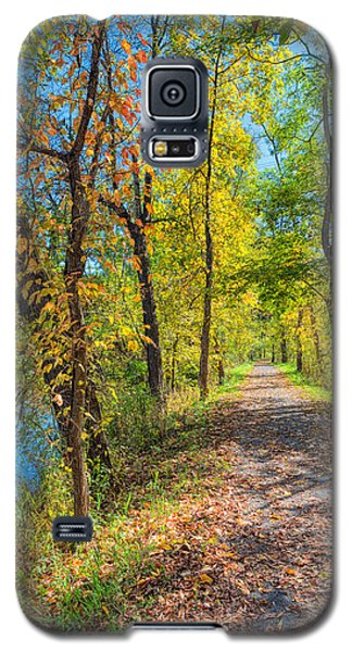 Path Through Fall Galaxy S5 Case