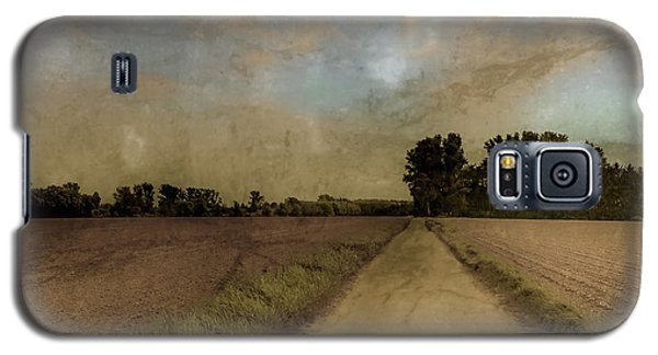 Galaxy S5 Case featuring the photograph Juchen, Germany - Path To Glehn by Mark Forte