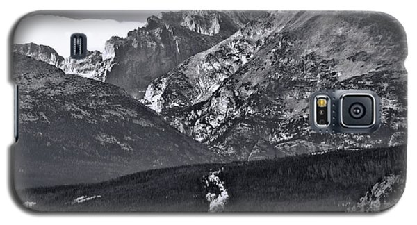 Galaxy S5 Case featuring the photograph Path To Longs Peak by Dan Sproul