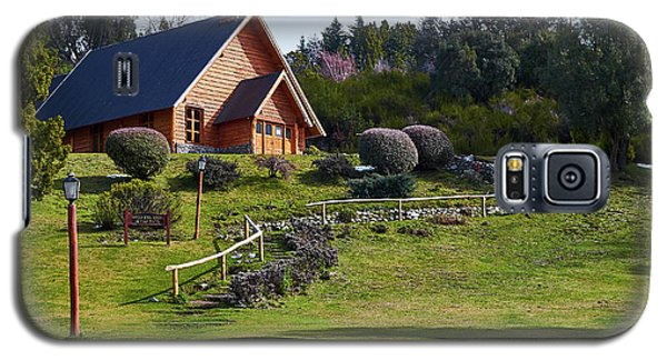 Rustic Church Surrounded By Trees In The Argentine Patagonia Galaxy S5 Case