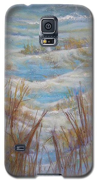 Galaxy S5 Case featuring the painting Path To Peace by Gertrude Palmer