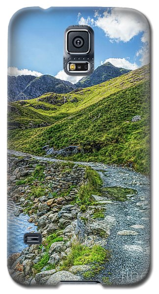 Galaxy S5 Case featuring the photograph Path To Snowdon by Ian Mitchell