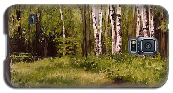 Path To The Birches Galaxy S5 Case