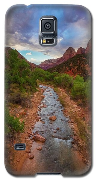 Galaxy S5 Case featuring the photograph Path To Zion by Darren White