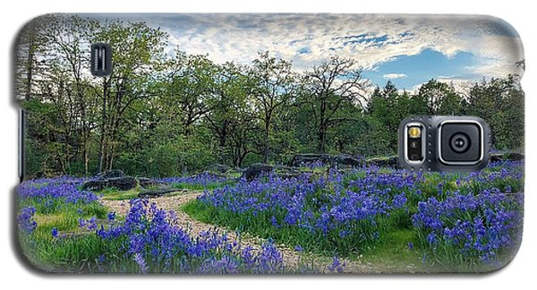 Pathway Through The Flowers Galaxy S5 Case