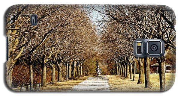 Pathway Through Trees Galaxy S5 Case