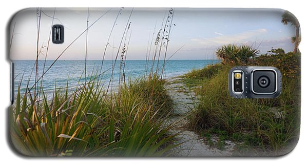 Pathway To Barefoot Beach  In Naples Galaxy S5 Case