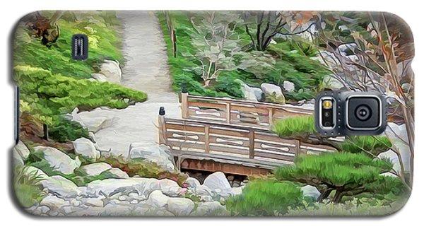 Pathway Trough Japanese Garden Galaxy S5 Case