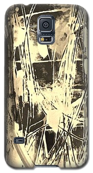 Galaxy S5 Case featuring the painting Patience by Carol Rashawnna Williams
