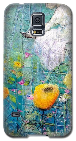 Galaxy S5 Case featuring the painting Patience by Eleatta Diver