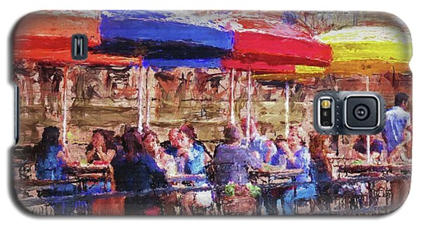 Patio At The Riverwalk Galaxy S5 Case