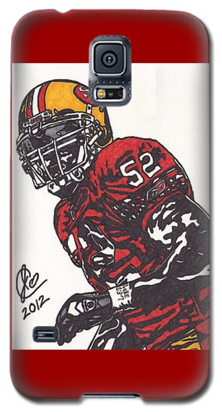 Patrick Willis Galaxy S5 Case by Jeremiah Colley