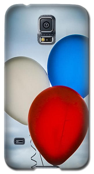 Patriotic Balloons Galaxy S5 Case by Carolyn Marshall