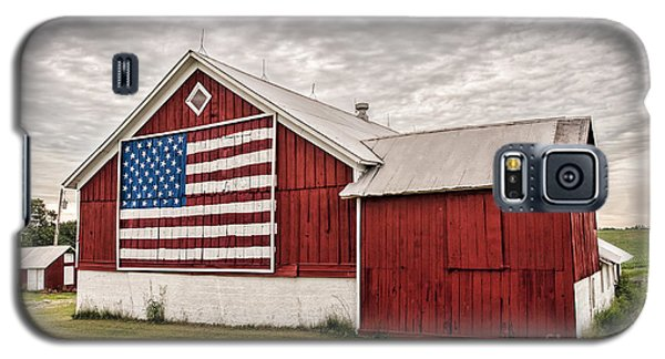 Patriotic Barn Galaxy S5 Case by Trey Foerster