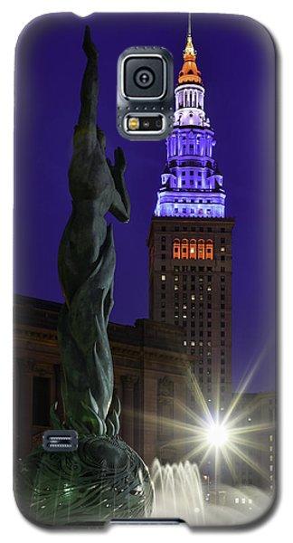 Patriotic Cleveland Fountain  Galaxy S5 Case