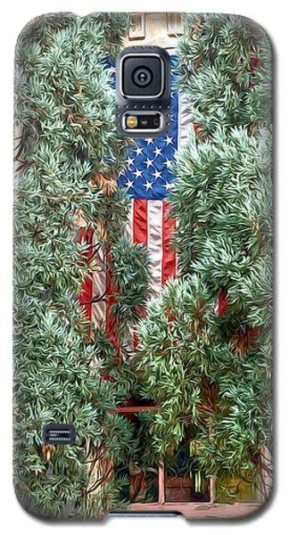 Patriotic Georgetown Home Galaxy S5 Case by Lorella Schoales