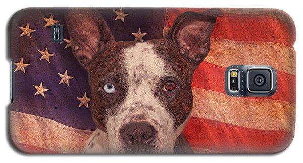 Patriotic Pit Bull  Galaxy S5 Case