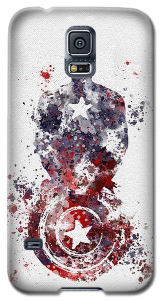 Superhero Galaxy S5 Case - Patriotic Supersoldier by My Inspiration